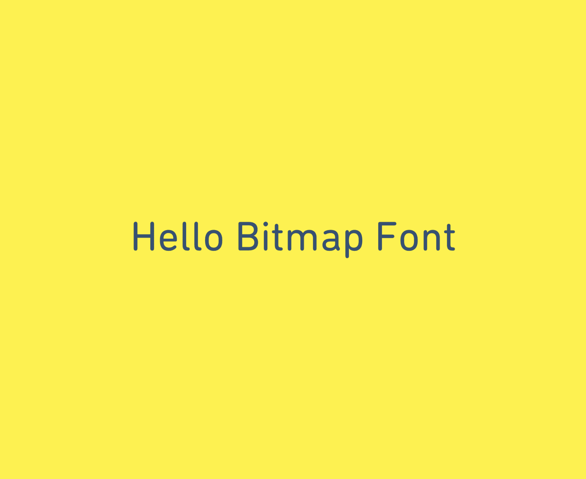 Making and Using a Bitmap Font in PIXI js v5 | AMW Blog